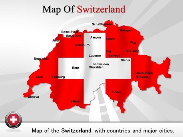 mapa suiça