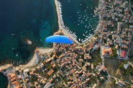paragliding vis croácia