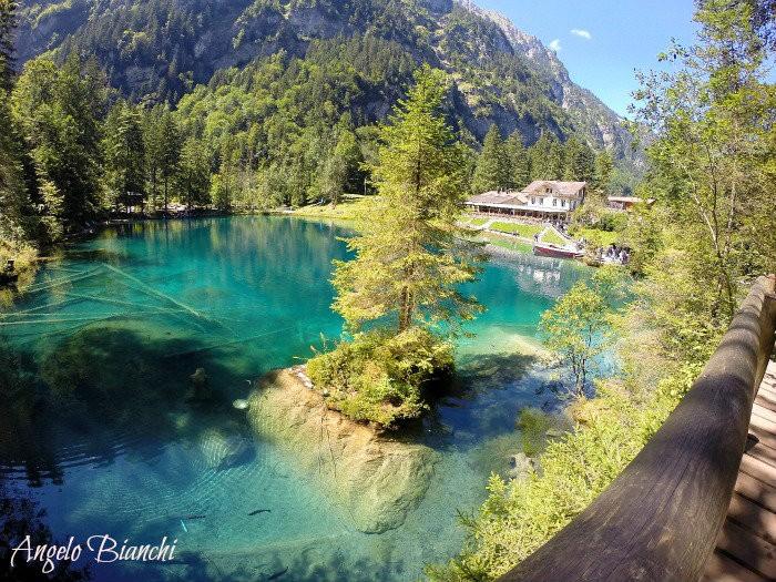 lago blausee suiça