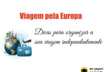 como organizar uma viagem pela europa