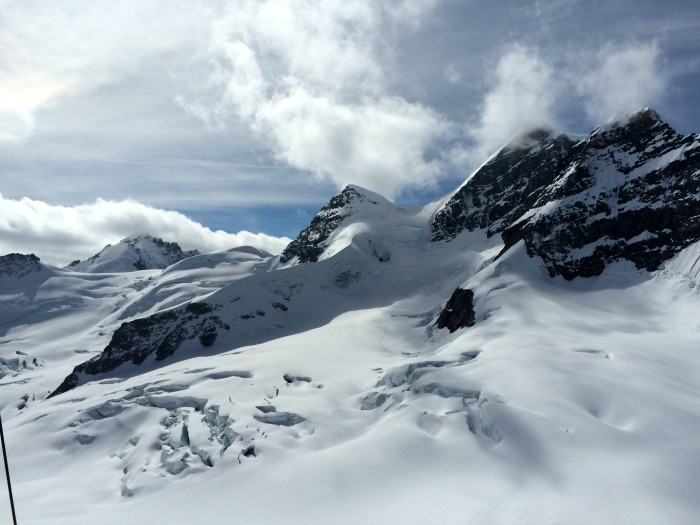 alpes suiços jungfraujoch