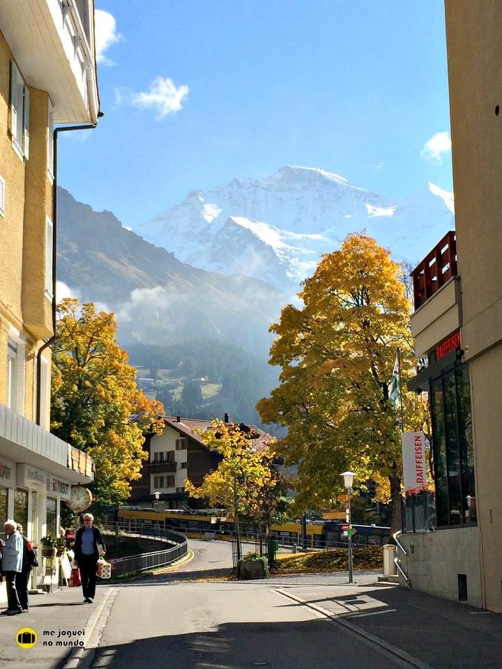 outono suiça wengen paisagens