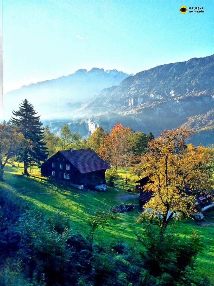 viajar para a suiça no outono