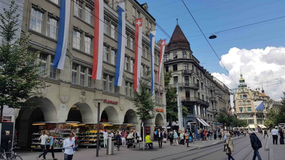 bahnhofstrasse zurich