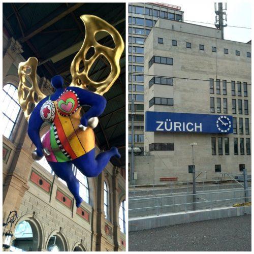 estaçao de trem principal de Zurique