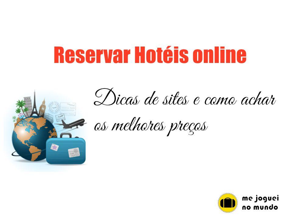 como reservar hoteis online