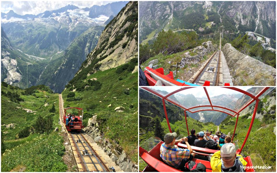 gelmerbahn funicular mais inclinado da europa