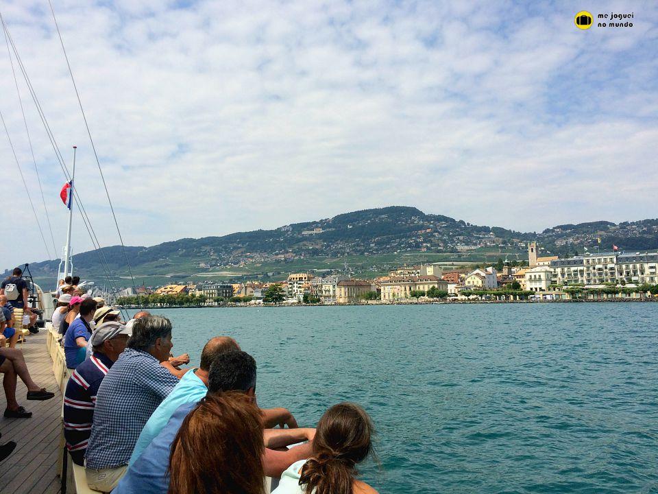 la suisse cruzeiro lago genebra