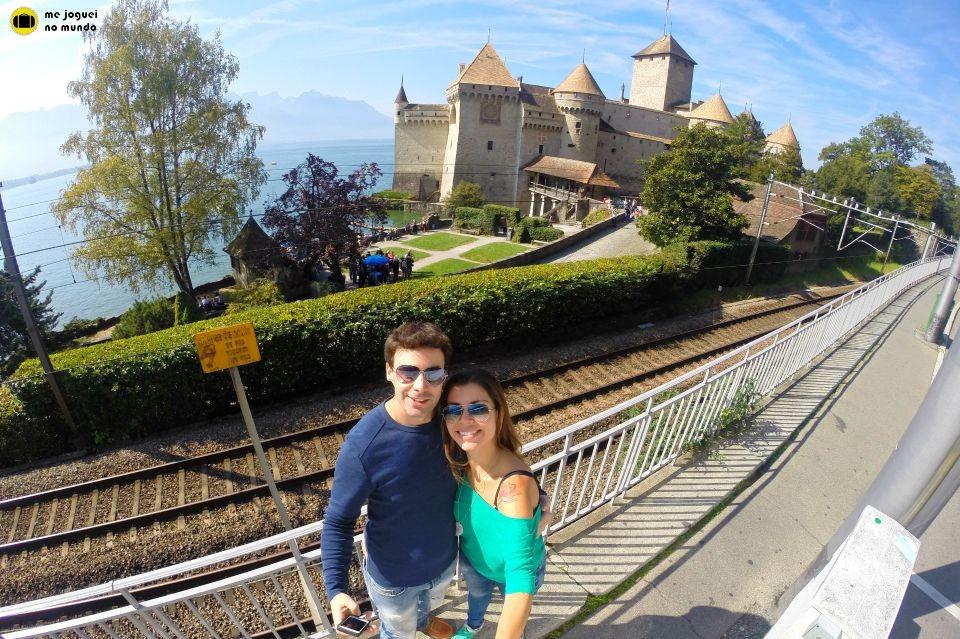 Montreux château de chillon