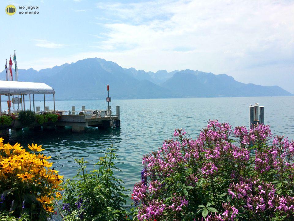 passeio de barco lago leman