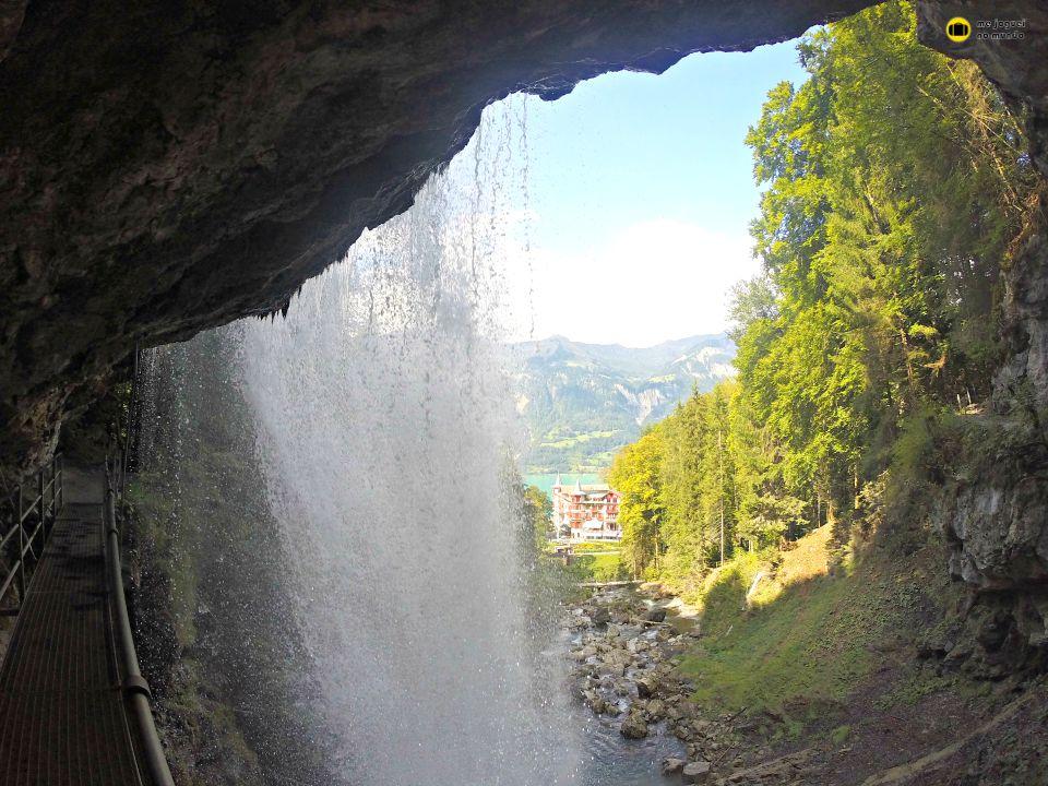 cachoeira giessbach em brienz