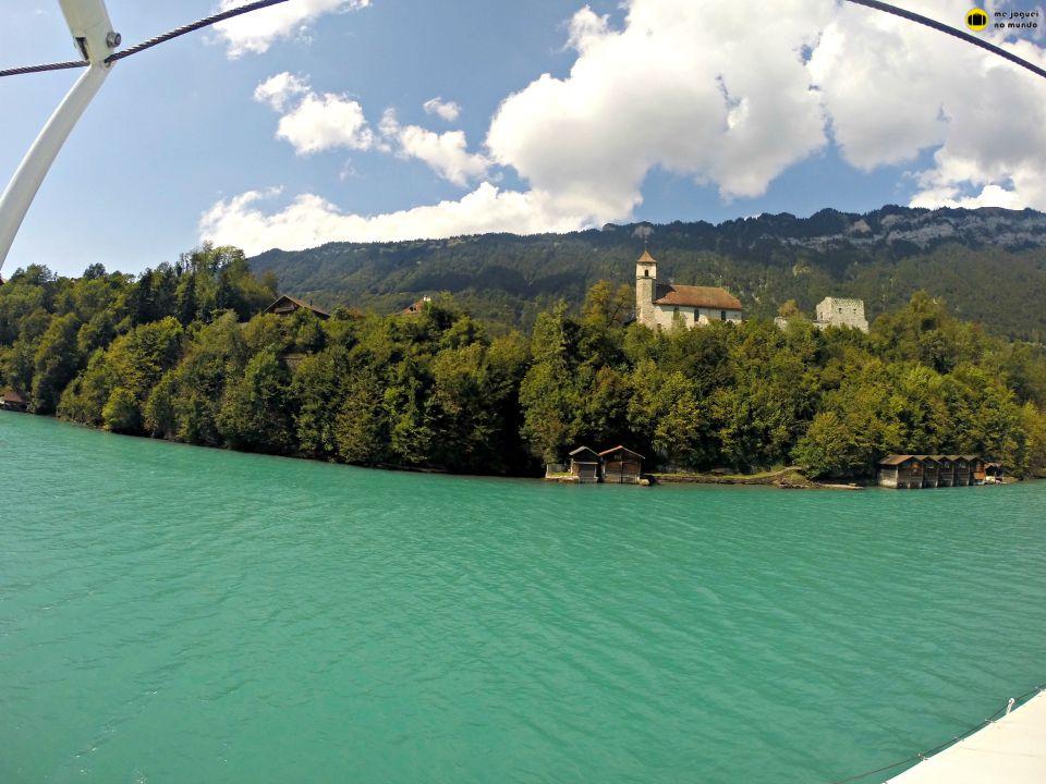 lago brienz passeio de barco
