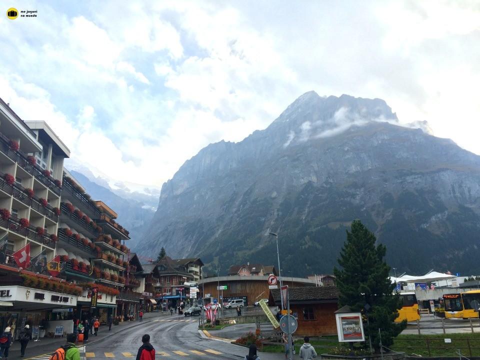 Vila de Grindelwald Suiça