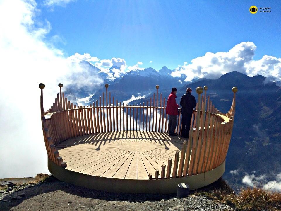 caminhada royal männlichen alpes suiços
