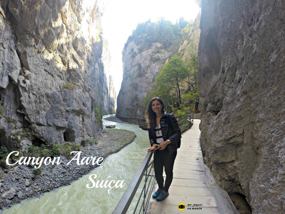 canyon aare suiça