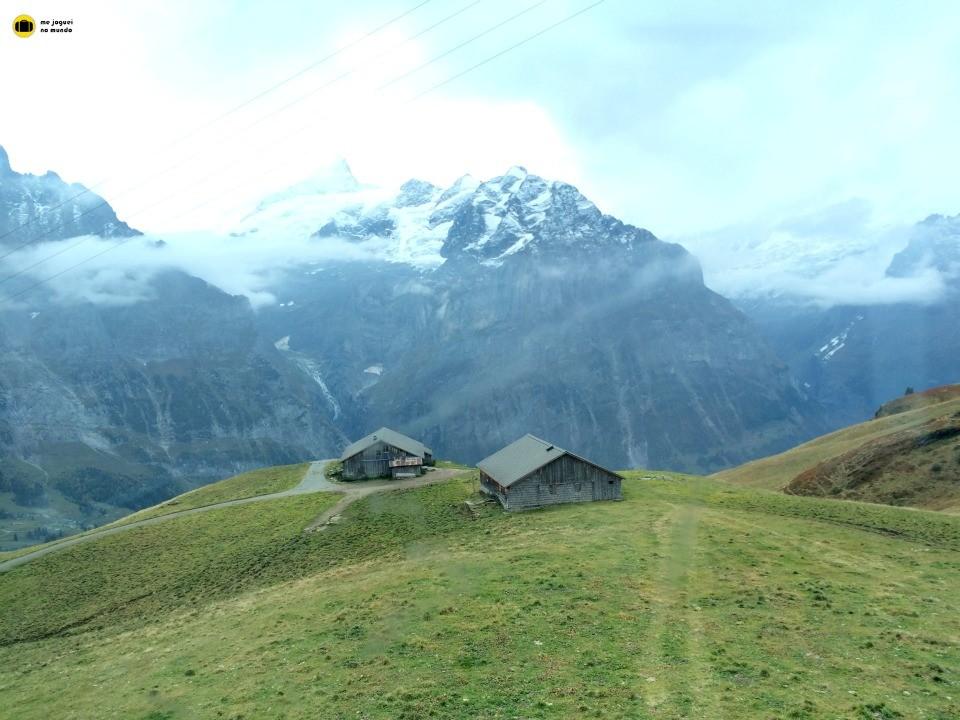 panorama alpes grindelwald