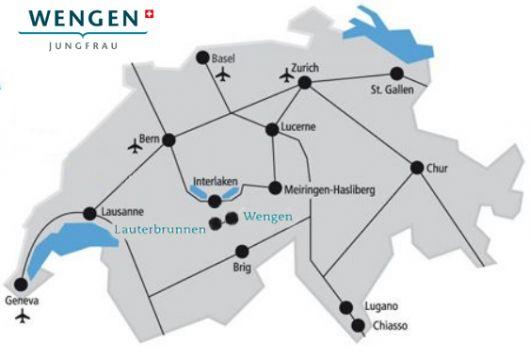 como chegar a wengen