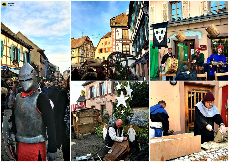 mercado de natal medieval ribeauville