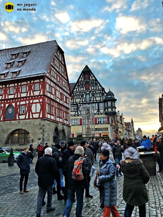 Rothenburg ob der tauber no inverno