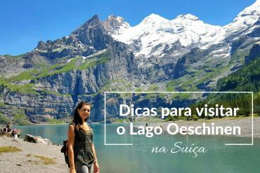 lago oeschinen suiça