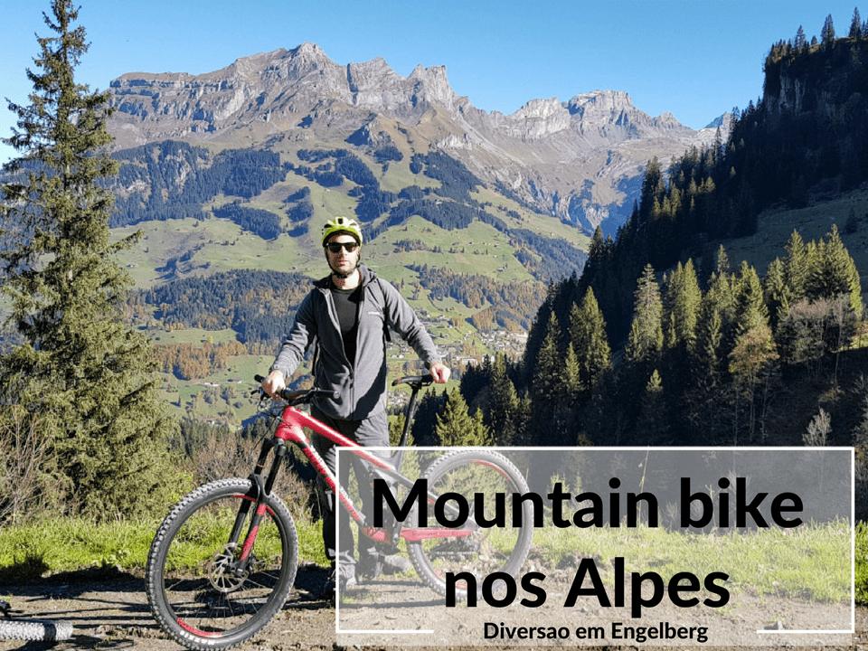mountainbike nos alpes