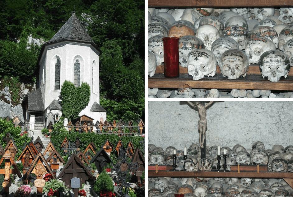 capela dos ossos em hallstatt