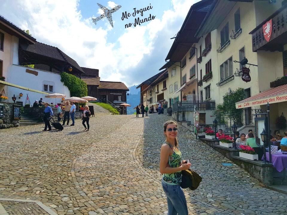 vila medieval de gruyéres