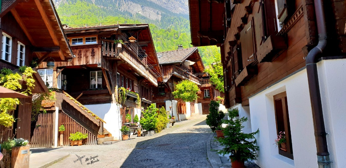 vila de brienz em interlaken