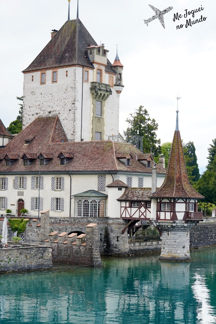 Castelo Oberhofen Lago Thun
