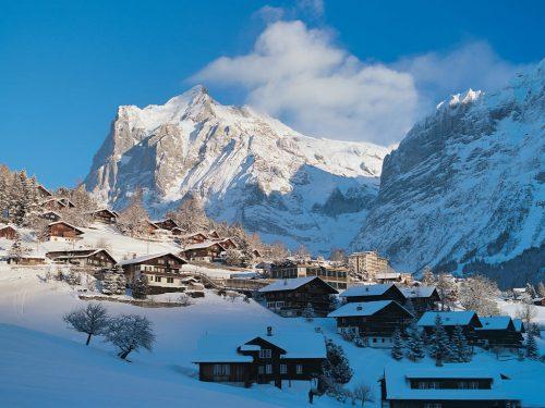 vilas para visitar no inverno na suica