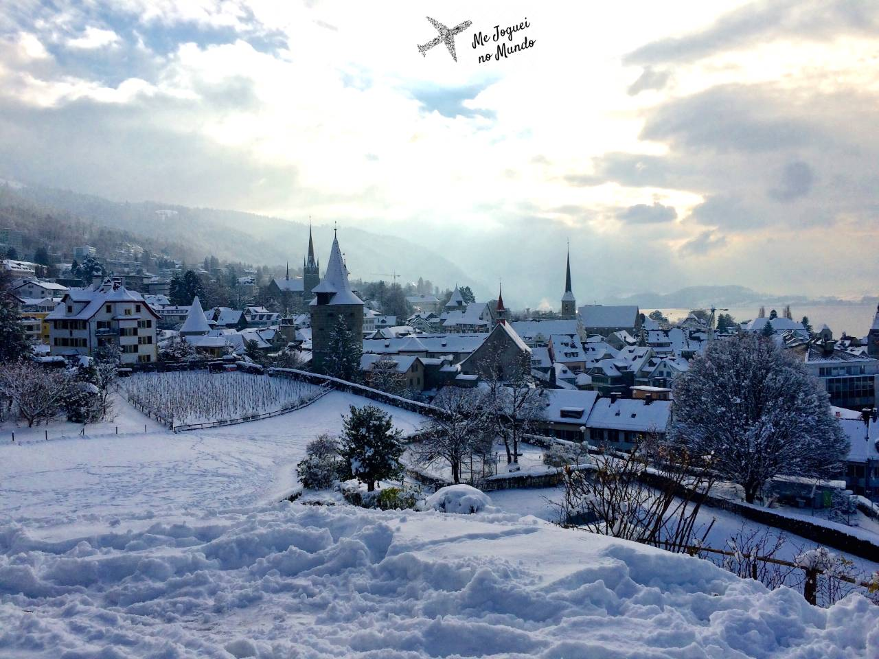 suiça no inverno