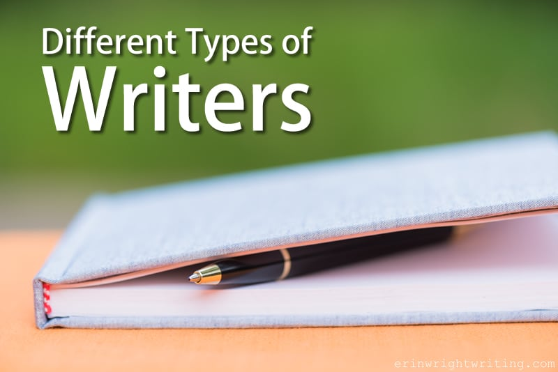 Different Types of Writers | Image of Pen in Notebook