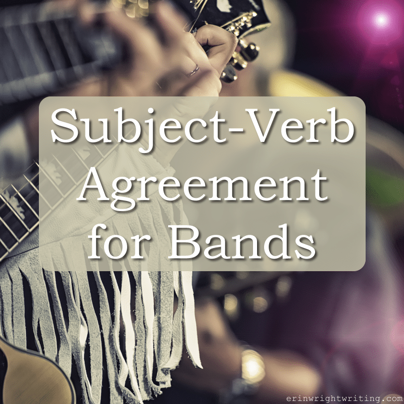 Subject-Verb Agreement for Bands | Image of Country Band