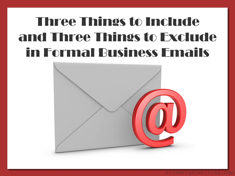 Three Things to Include and Three Things to Exclude in Formal Business Emails | Image of Envelope with At Symbol