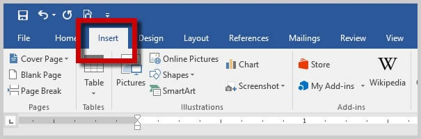 Image of Word 2016 Insert Tab | How to Insert Special Characters in Microsoft Word