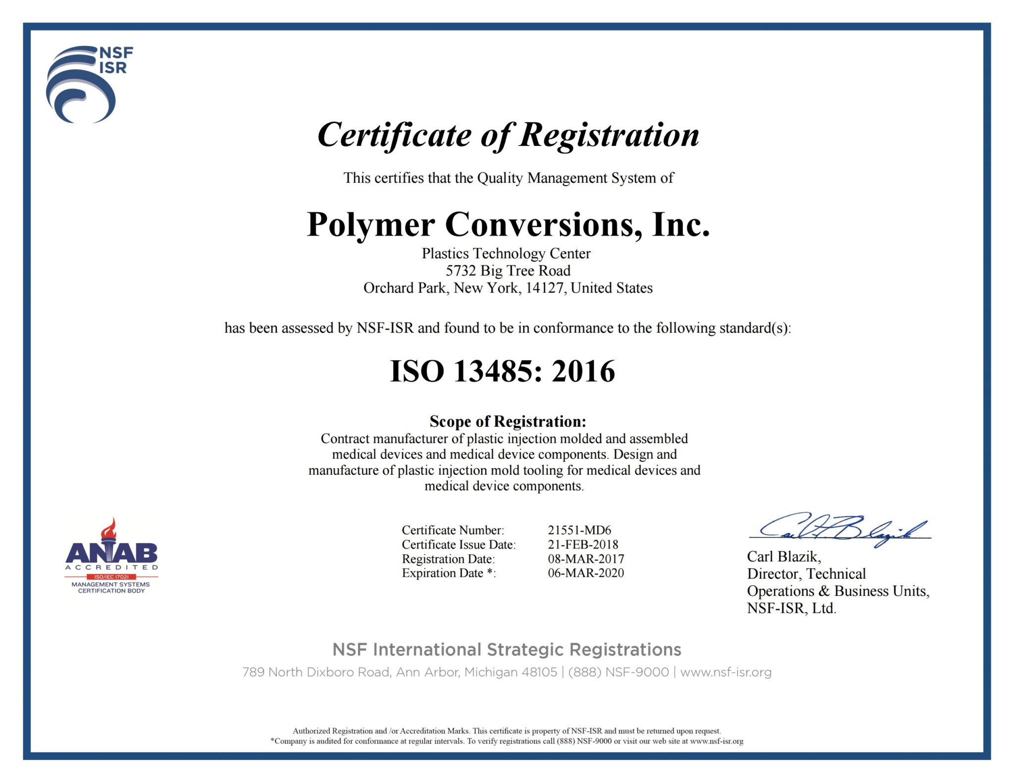 ISO 13485 Certified Injection Molder - PCI Medical Injection