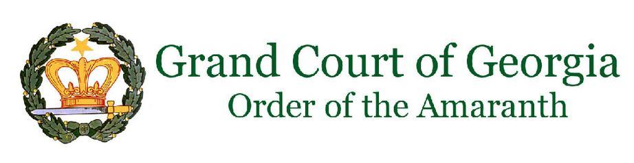 Grand Court of Georgia   Order of the Amaranth