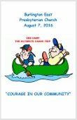 2016-08-07 Bulletin