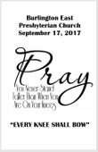 2017-09-17 Every knee shall bow