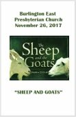 2017-11-26 – Sheep and Goats