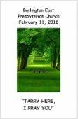 2018-02-11 Bulletin