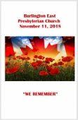 2018-11-11 Bulletin
