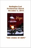 2018-12-02 – The Candle of Hope