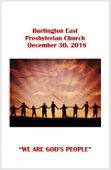 2018-12-30 Bulletin