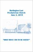 2019-06-02 Bulletin