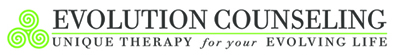 Evolution Counseling, Inc. Retina Logo