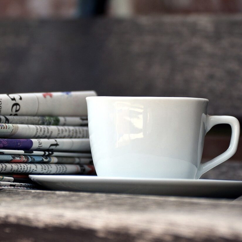 newspapers coffee aleza freeman home