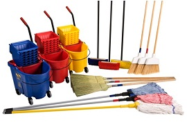 Brooms, Mops and Brushes