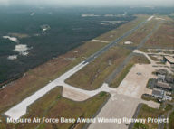 McGuire Air Force Base Award Winning Runway Project