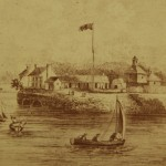Fort Armstrong, courtesty of Rock Island County Historical Society